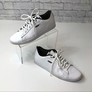 Puma Women's White Tennis Sneaker Shoe
